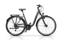 "Bicicleta CROSS Prolog XXL Trekking Lady 28"" Gri/Negru 500mm"