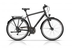 "Bicicleta CROSS Prolog XXL Trekking Man 28"" Gri/Negru 500mm"