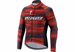 ELEMENT SL TEAM EXPERT JERSEY LS BLK/RED S