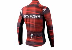 ELEMENT SL TEAM EXPERT JERSEY LS BLK/RED XXL