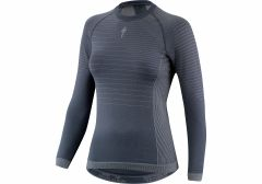 Bluza SPECIALIZED Seamless Women's LS Baselayer - Dark Grey L/XL