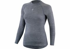 Bluza SPECIALIZED Merino Women's LS Baselayer - Grey L/XL