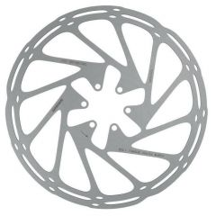 Disc Frana SRAM Rotor disc SRAM CenterLine 160mm, IS6, suruburi incluse, argintiu