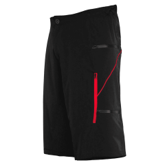 Pantaloni scurti FUNKIER Lucca Pro Men - Black/Red XL