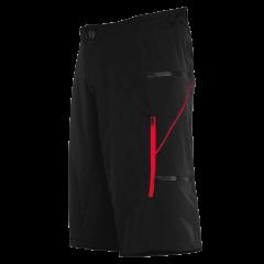 Pantaloni scurti FUNKIER Lucca Pro Men - Black/Red 2XL