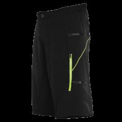 Pantaloni scurti FUNKIER Lucca Pro Men - Black/Yellow XL