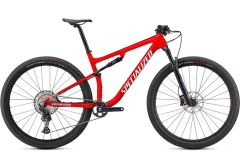 Bicicleta SPECIALIZED Epic Comp - Gloss Flo Red w/Red Ghost Pearl/Mettalic White Silver M