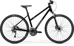 Bicicleta MERIDA Crossway 500 L (55L'') Negru|Argintiu Mat 2021