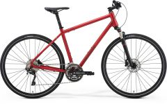 Bicicleta MERIDA Crossway 500 S (47'') Rosu Mat|Rosu Inchis 2021