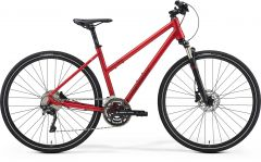 Bicicleta MERIDA Crossway 500 L (55L'') Rosu Mat|Rosu Inchis 2021