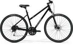 Bicicleta MERIDA Crossway 100 L (55L'') Negru|Argintiu Mat 2021