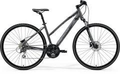 Bicicleta MERIDA Crossway 20-D L (54L'') Antracit|Gri|Negru 2021