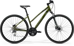Bicicleta MERIDA Crossway 20-D L (54L'') Verde|Argintiu|Verde|Negru 2021