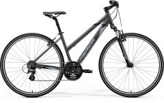 Bicicleta MERIDA Crossway 10-V L (54L'') Antracit|Gri|Negru 2021