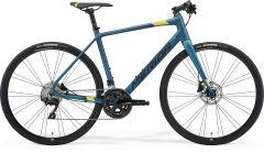 Bicicleta MERIDA Speeder 400 L (56'') Teal|Lime|Negru 2021