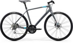 Bicicleta MERIDA Speeder 100 S (50'') Gri Mat|Albastru|Rosu 2021