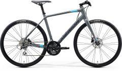 Bicicleta MERIDA Speeder 100 L (56'') Gri Mat|Albastru|Rosu 2021