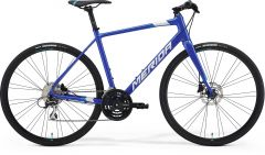 Bicicleta MERIDA Speeder 100 XL (59'') Albastru Inchis|Albastru|Alb 2021