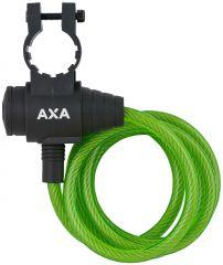 Incuietoare cablu AXA Zipp 120/8 verde