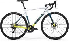 Bicicleta MERIDA Mission CX 7000 XS (47'') Alb Perlat|Teal|Albastru|Lime 2021