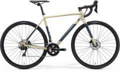 Bicicleta MERIDA Mission CX 400 S (50'') Galben-Nisip|Gri|Turquoise 2021