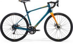 Bicicleta MERIDA Silex 200 M (50'') Teal Albastru Auriu 2021