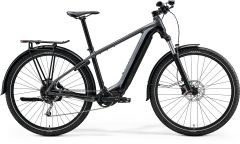 Bicicleta MERIDA eBig Nine 400 S (38'') Gri Negru Mat 2021
