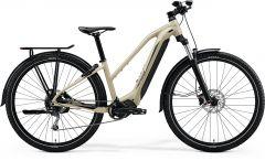 Bicicleta MERIDA eBig Tour 400 EQ L (48'') Galben-Nisip|Negru 2021