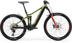 Bicicleta MERIDA eOne-Forty 500 XL (45'') Verde Mat|Negru|Rosu 2021