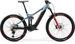 Bicicleta MERIDA eOne-Sixty 700 L (45'') Albastru Mat Negru Rosu 2021