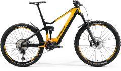 Bicicleta MERIDA eOne-Sixty 8000 XS (40.5'') Orange Negru Mat 2021