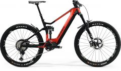 Bicicleta MERIDA eOne-Sixty 9000 M (44'') Rosu Negru Mat 2021