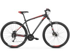 Bicicleta KROSS Hexagon 6.0 29'' M Negru Grafit Rosu 2021