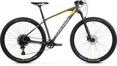 Bicicleta KROSS Level 12.0 29'' M Grafit Lime Argintiu 2021
