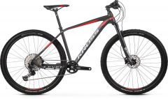 Bicicleta KROSS Level 8.0 29'' L Negru Rosu Grafit 2021