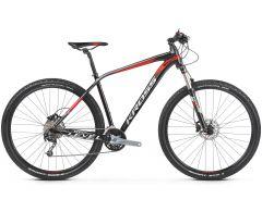 Bicicleta KROSS Level 5.0 29'' M Negru Rosu Argintiu 2021