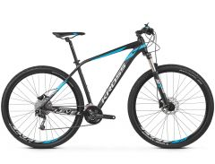 Bicicleta KROSS Level 4.0 29'' M Negru Albastru Argintiu 2021