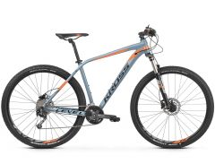 Bicicleta KROSS Level 4.0 29'' S Gri Portocaliu 2021