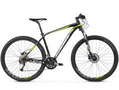 Bicicleta KROSS Level 3.0 29'' S Negru Lime Alb 2021