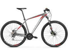 Bicicleta KROSS Level 2.0 29'' XL Grafit Rosu Argintiu 2021