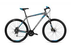 Bicicleta KROSS Hexagon 5.0 29'' M Grafit Argintiu Albastru 2021