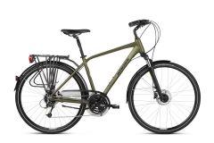 Bicicleta KROSS Trans 5.0 2021 28'' L Kaki|Negru 2021