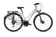 Bicicleta KROSS Trans 5.0 D 28'' M Perla Negru 2021