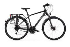 Bicicleta KROSS Trans 5.0 2021 28'' S Negru|Gri 2021
