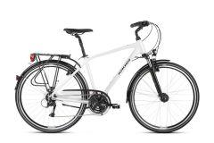 Bicicleta KROSS Trans 4.0 28'' L Perla|Alb 2021