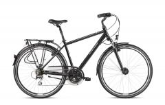 Bicicleta KROSS Trans 3.0 28'' XL Negru|Gri 2021