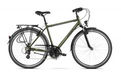 Bicicleta KROSS Trans 2.0 28'' L Kaki|Negru 2021