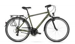 Bicicleta KROSS Trans 2.0 28'' M Kaki|Negru 2021