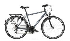 Bicicleta KROSS Trans 2.0 28'' M Gri|Negru 2021
