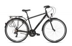 Bicicleta KROSS Trans 1.0 2021 28'' M Negru|Gri 2021